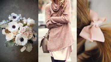 Le vieux rose ou Dusty Pink est l'une des couleurs symbolisant le mieux la douceur et la sincérité.