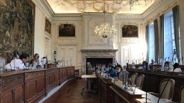 Une nouvelle séance, semi-virtuelle, du conseil communal de Liège en ce dernier lundi de juin