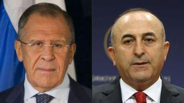 Les ministres des Affaires étrangères russe et turque sont au centre de très fortes tensions diplomatiques ces derniers jours.