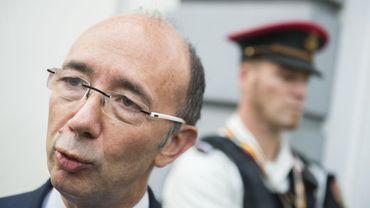 Rudy Demotte, ministre-président de la Fédération Wallonie-Bruxelles