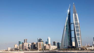 La ville de Manama, Bahreïn