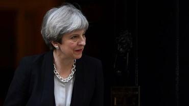 La Première ministre britannique Theresa May, le 19 avril 2017 à Londres