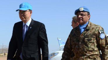 """Il a promis que l'ONU """"fera tout pour améliorer le sort des réfugiés"""", qui selon lui """"ont le sentiment d'être oubliés du monde""""."""