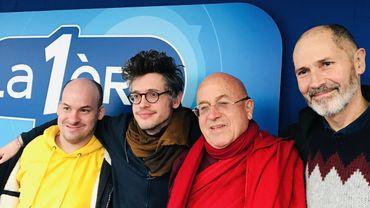 Alexandre Jollien, Pascal Claude, Christophe André et Matthieu Ricard