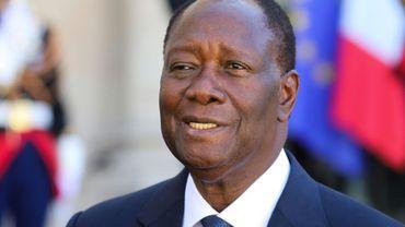 Le président ivoirien Alassane Ouattara, ici en photo à Paris le 9 juillet 2019