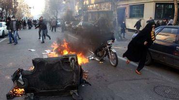 Manifestations à Téhéran