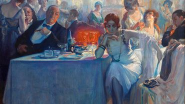 """Phalaena"" par Carlos Verger Fioretti (1872 - 1929)"