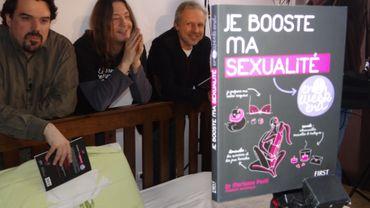 Michel Dufranne, Gorian Delpature et Thierry Bellefroid