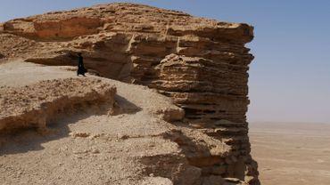 """Le lieu dit """"Edge of The World"""", le """"bout du monde"""". Arabie saoudite"""