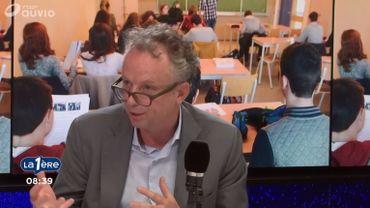 """Les directeurs d'école sont en colère: """"Un métier difficile, mais essentiel"""" pour Olivier Remels"""
