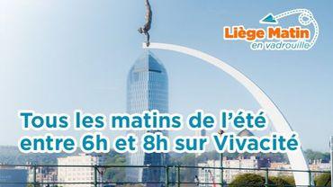 Venez prendre le petit-déjeuner avec l'équipe de Liège Matin en Vadrouille tout cet été!
