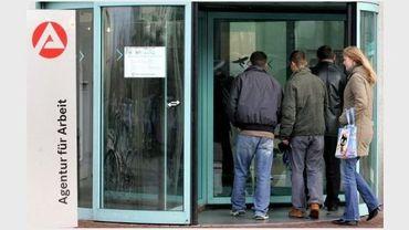 Une agence pour l'emploi en Allemagne