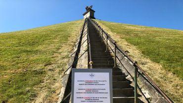 Coronavirus: retour en douceur des visiteurs sur la butte de Waterloo