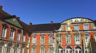 Le dépôt des archives de l'Etat de Saint-Hubert est situé au palais abbatial.