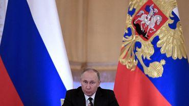 Vladimir Poutine, 65 ans, grand favori de l'élection de 2018.