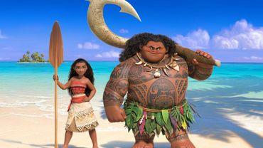 """""""Vaiana"""", le nouveau Disney, sur les traces de """"La Reine des neiges"""" au box-office"""