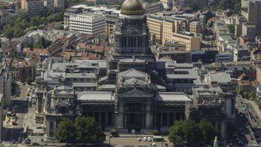 La nouvelle entrée sécurisée du palais de justice de Bruxelles inaugurée en septembre