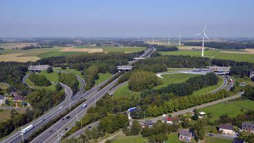 Vue aérienne de l'E42 (image d'archive)