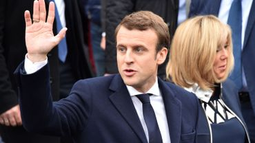 """Emmanuel Macron: """"Une nouvelle page de l'histoire s'ouvre"""""""