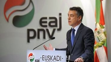 Le chef du Parti nationaliste basque, Inigo Urkullu, le 22 août 2012 à Bilbao