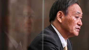 Le secrétaire général du gouvernement japonais Yoshihide Suga, pressenti pour succéder au Premier ministre démissionnaire Shinzo Abe, le 12 septembre 2020 à Tokyo