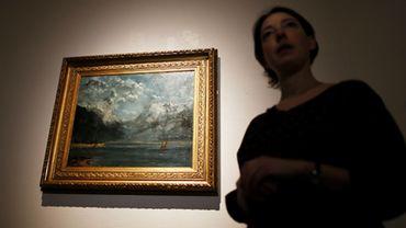 Paradoxe de l'histoire, ce tableau de 58 x 71,5 cm, reposait, oublié, dans les réserves du musée local de Granville depuis la Deuxième Guerre mondiale