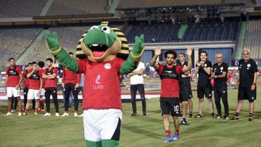 Acclamé au Caire, Salah reste sur la touche