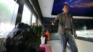 En Chine, des amateurs de météorites sont prêts à payer des prix astronomiques
