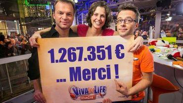 Viva For Life, fin de l'opération: 1 267 351 euros récoltés