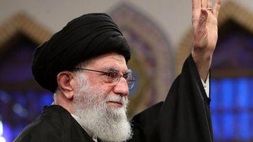 Le Guide suprême de l'Iran, l'Ayatollah Ali Khamenei.