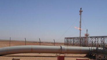 Un gazoduc en Algérie