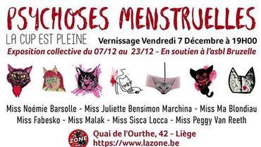 """""""Psychoses menstruelles"""" : l'expo dans les règles de l'art"""