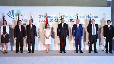 Les ministres des Affaires étrangères du G7, USA en tête, réclament le départ d'Assad