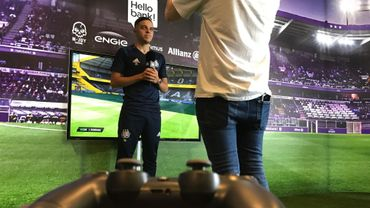 Anderlecht a présenté son premier e-gamer