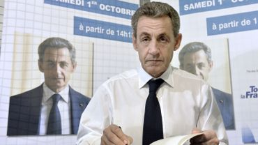 Le 1er octobre, Nicolas Sarkozy signait son livre