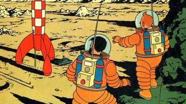 Une planche de Tintin vendue 1,55 million d'euros, un record