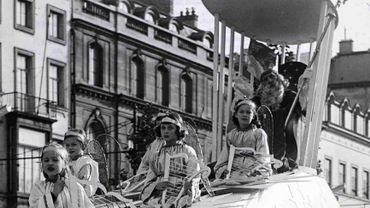 La parade de Saint-Nicolas, 1955.