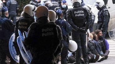 Manifestation contre la justice de classe, le 24 janvier, à Bruxelles