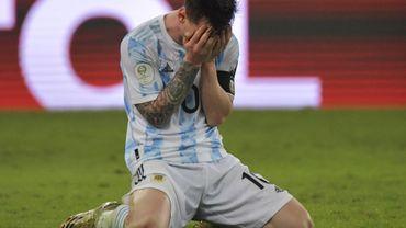 """Copa America: """"Un bonheur inexplicable""""  Messi réagit après avoir remporté son premier titre avec l'Albiceleste"""