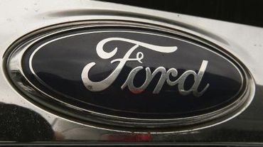 Le logo du constructeur automobile Ford