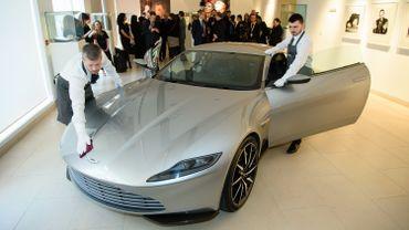 """L'Aston Martin DB10 vue dans """"Spectre"""""""