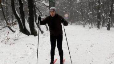 De La Neige Sur Les Pistes De Ski De Botrange Et De Baraque Fraiture