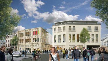 A Verviers, le centre commercial City Mall devrait compter 78 cellules commerciales, dont une quarantaine de boutiques de vêtements.