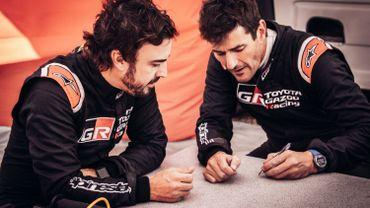 Fernando Alonso et Marc Coma