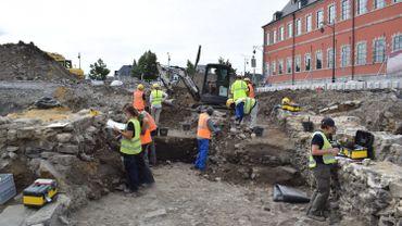 Résultats satisfaisants pour les fouilles archéologiques du Grognon à Namur