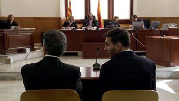 Lionel et Jorge Horacio Messi