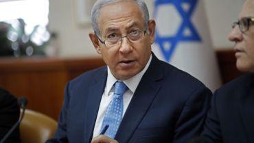 Benjamin Netanyahu appelle à renforcer les sanctions contre l'Iran.