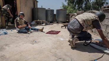 Wilson Fache correspondant RTBF en Irak