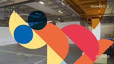 Papier Machine éponge le KANAL-Centre Pompidou