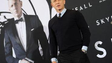 Daniel Craig lors d'une avant-première de Skyfall